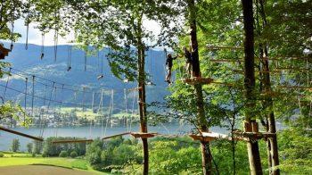 Sport Hotel zur Post Hochseilgarten klettern am Ossiachersee