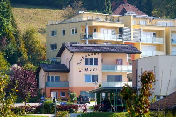 Appartementhaus Ludwig Hotel zur Post Aufnahme vom Appartementhaus Ludwig