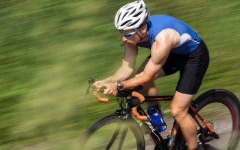 Rennrad fahren Hotel zur Post Rennradfahrer unterwegs