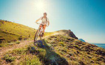 Mountainbike Hotel zur Post Mit dem Rad am Berg